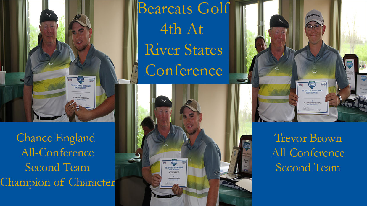 Photo for Men's Golf Finishes 4th in the River States Conference