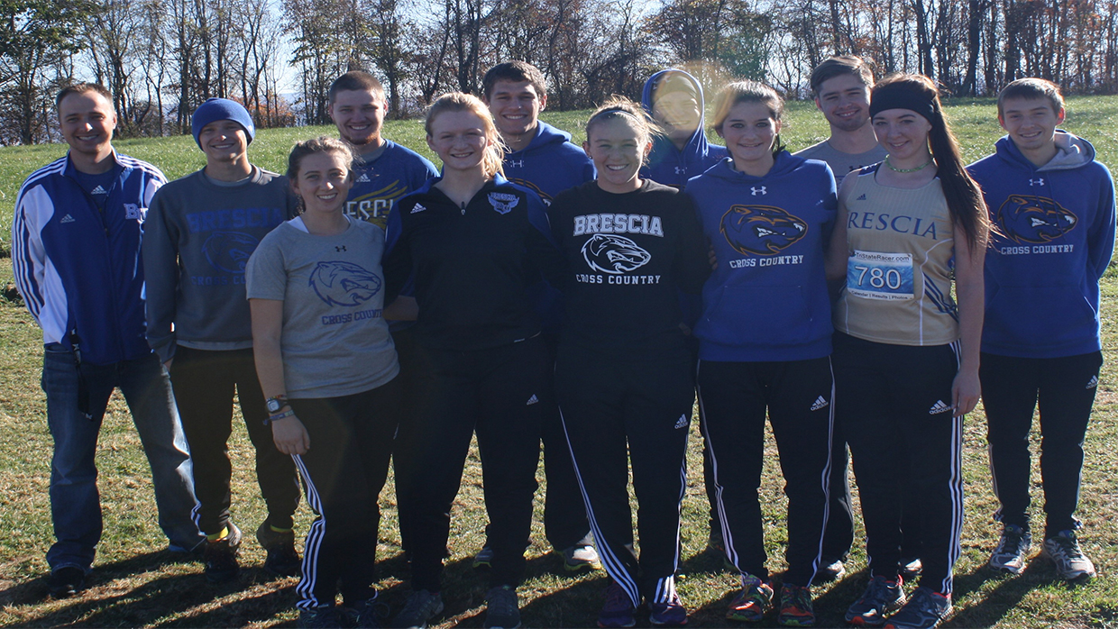 Photo for Brescia University women's cross country team competed in the River States Conference