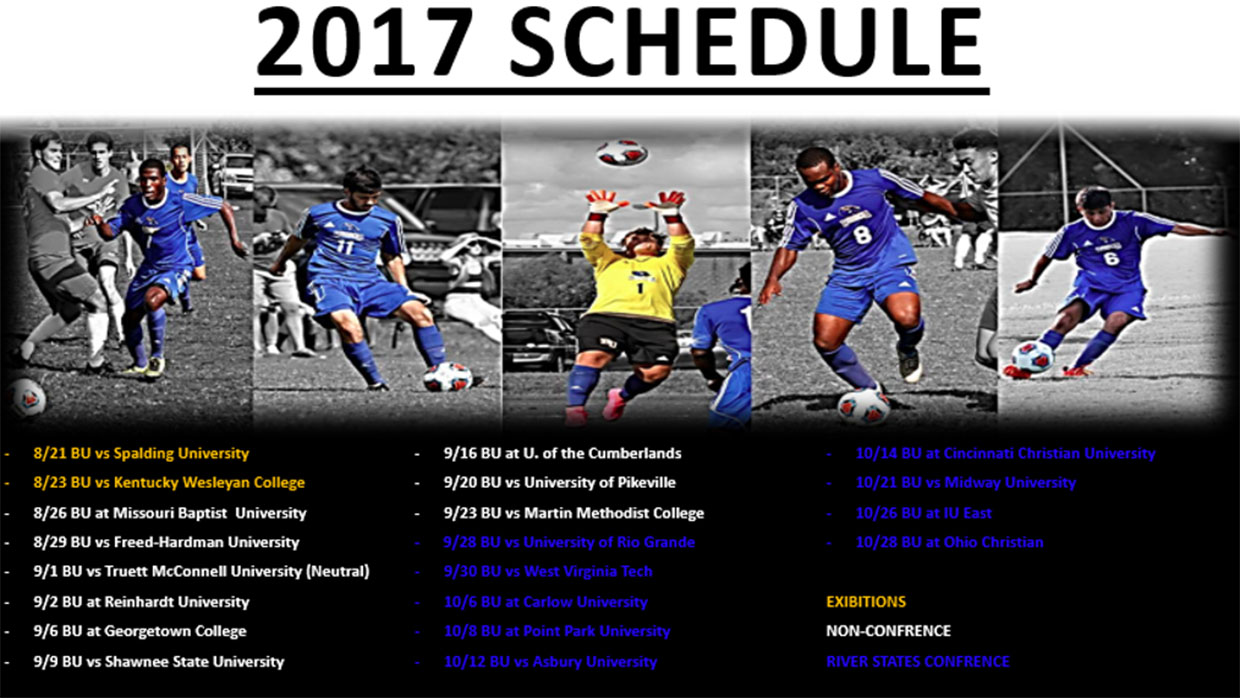 Photo for Men's Soccer Release 2017 Schedule